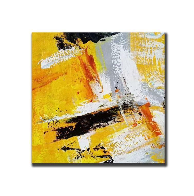 Abstract Wall Painting for Living Room, Original Hand Painted Acrylic Painting, Acrylic Paintings for Dining Room, Modern Paintings
