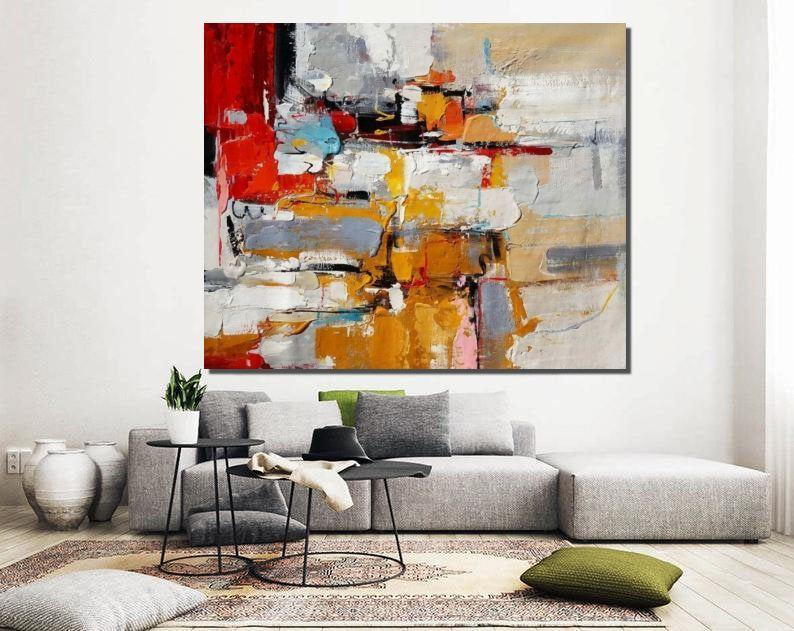 Extra Large Paintings for Living Room, Contemporary Wall Art Ideas, Modern Acrylic Painting Ideas, Original Hand Painted Abstract Paintings
