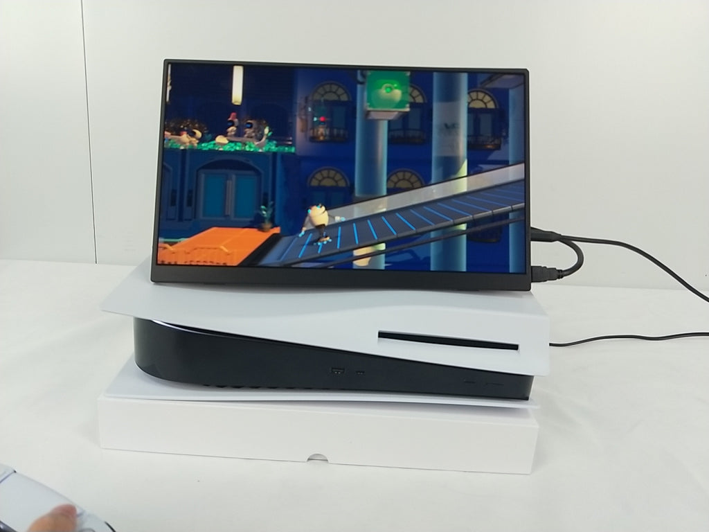 best portable ps5 QLED monitor