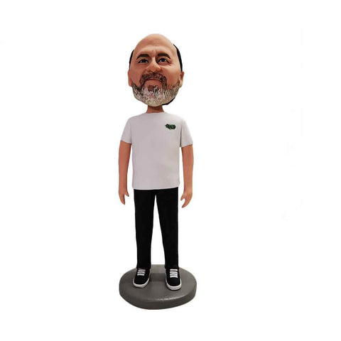 Polymer Clay Made Custom Bobbleheads