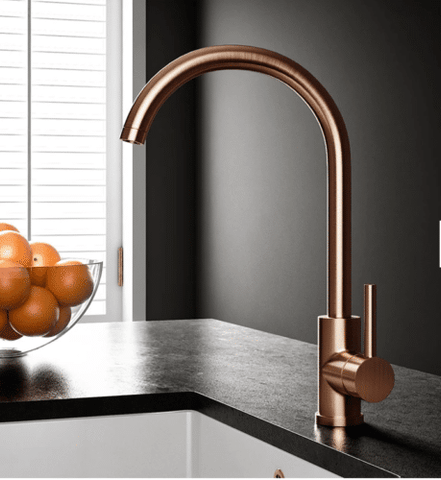 copper water tap
