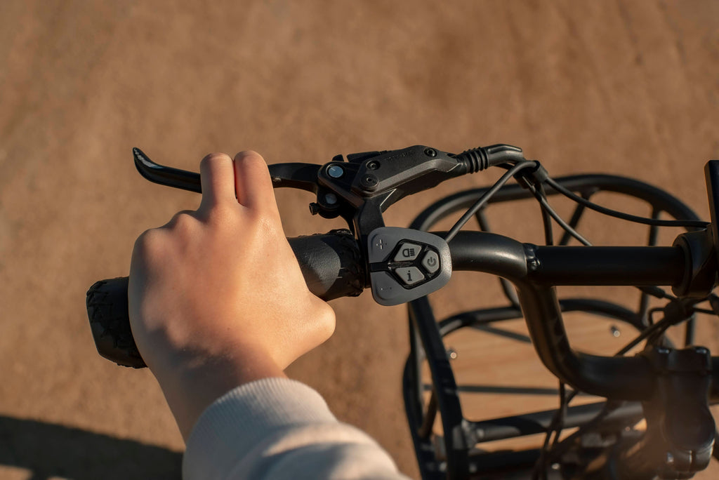 squeezing the hydraulic brakes on himiway escape