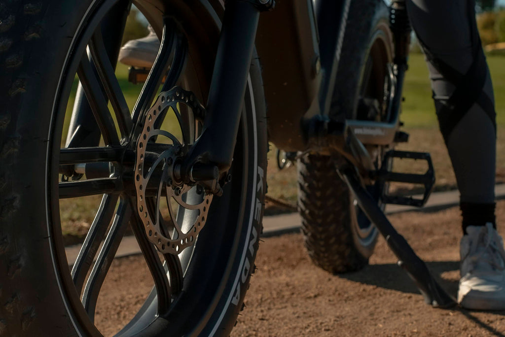 Hydraulic brakes on himiway escape