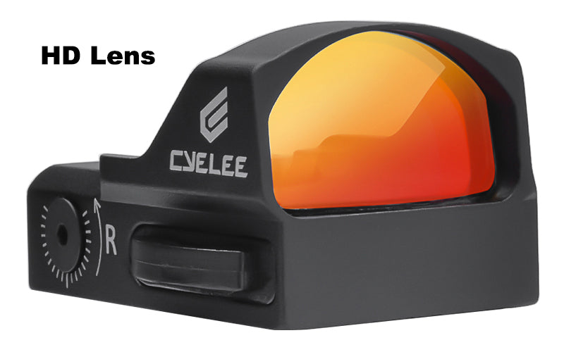 micro red dot sight for pistol