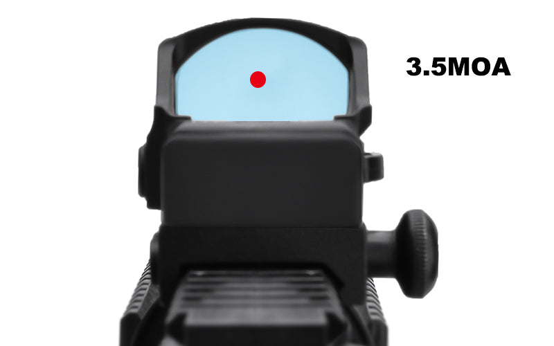 Micro red dot for rifle