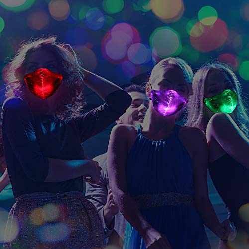 LED Mask With 7-Color Luminous Mask
