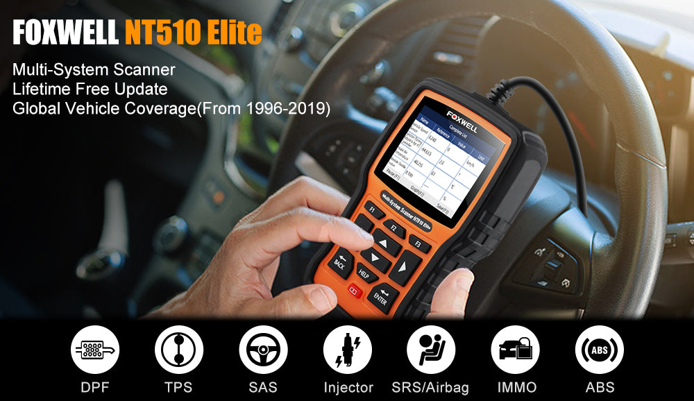 Foxwell NT510Elite Features