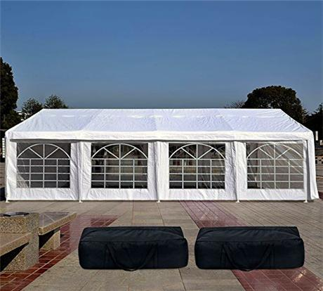 Quictent 13' x 26' Party Tent With Storage Bags