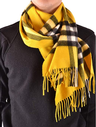 Burberry Unisex Classic Cashmere Scarf