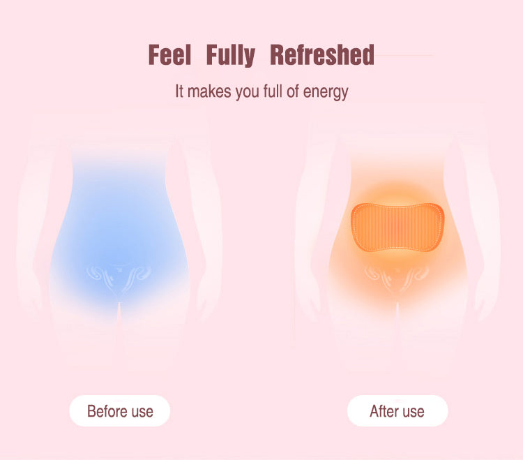 Hi5 Relly Menstrual Pain Relief Heating Pad with 3 levels of Vibration and Heating