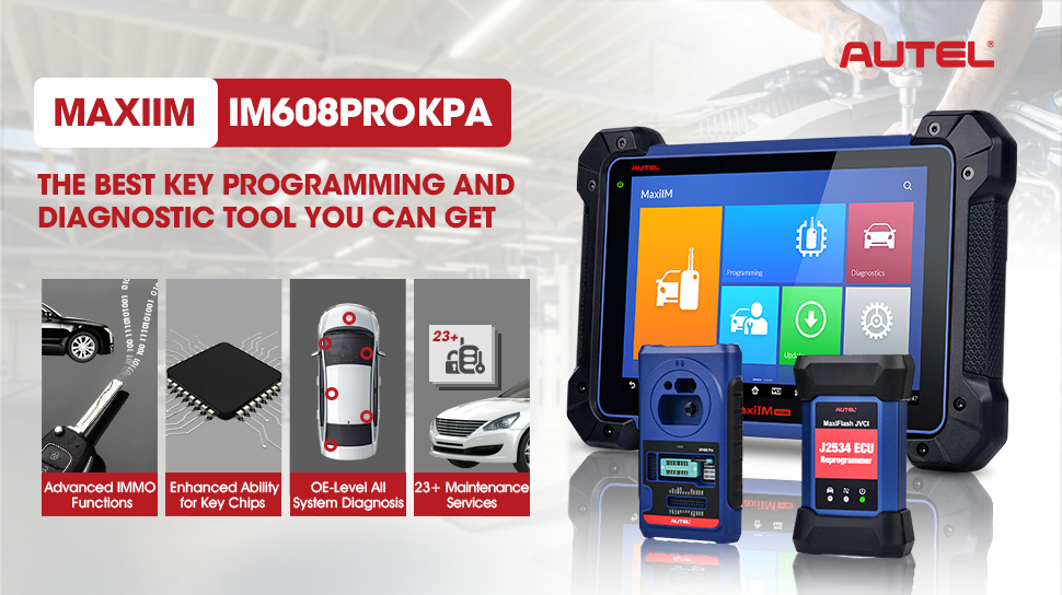 Autel IM608 Pro is a programming and diagnostic tool