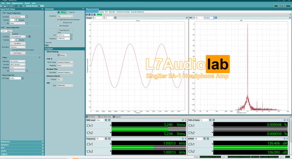 l7audiolab measurement