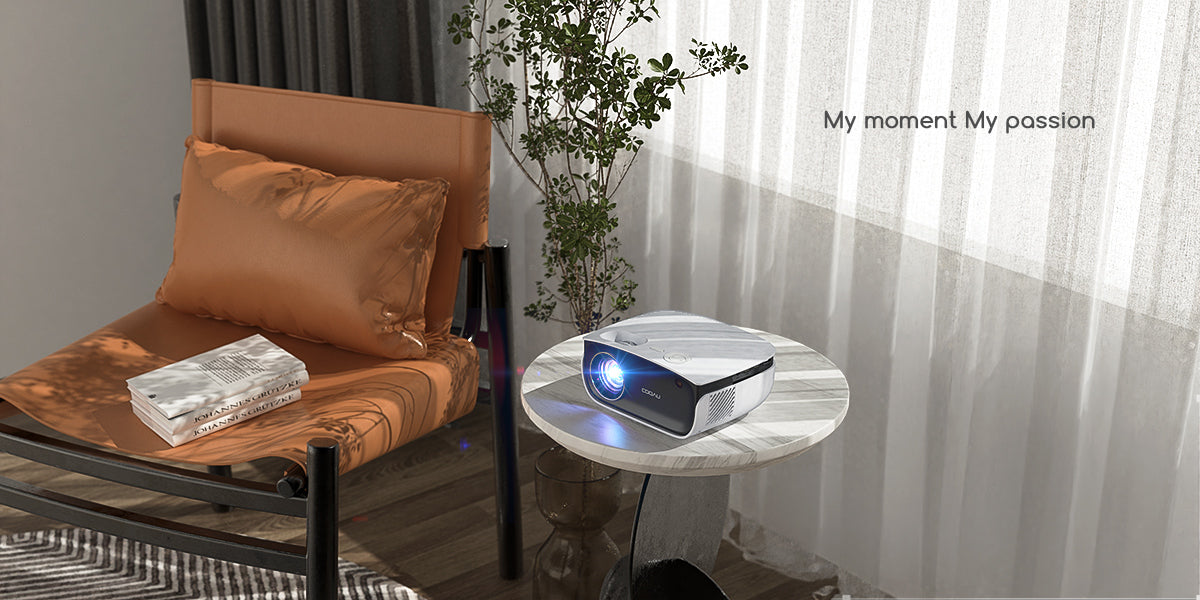 COOAU Projector A1 home