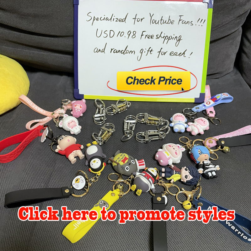 Click here to promote styles wire handmade keychain