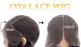 13x6 human hair lace frontal wig for black women heymywig.com