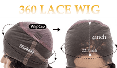 360 full lace frontal human hair lace wig for black girls heymywig.com