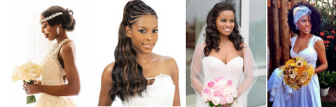 Wedding season brids hiarstyles for black girls heymywig hair beauty blog