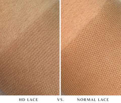 difference between normal swiss lace and hd invisible lace