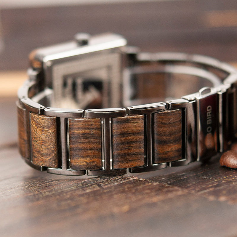 Engraved Wooden Watch 11