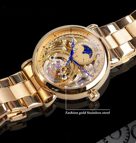 Golden Moon Automatic Mechanical Watches For Men detail3