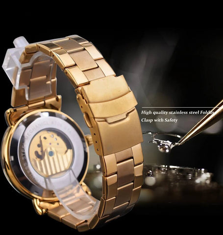 Golden Moon Automatic Mechanical Watches For Men detail4