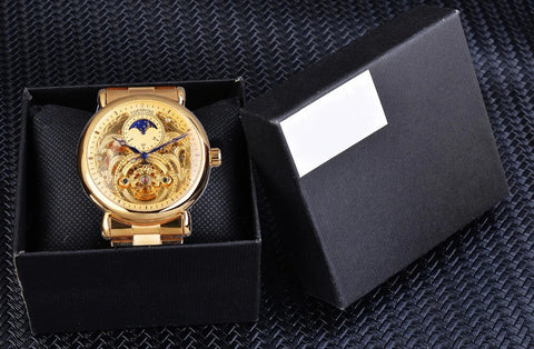 Golden Moon Automatic Mechanical Watches For Men detail7