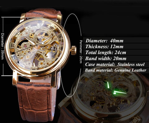 Luxury Business Leather Analog Fashion Watches for Men1