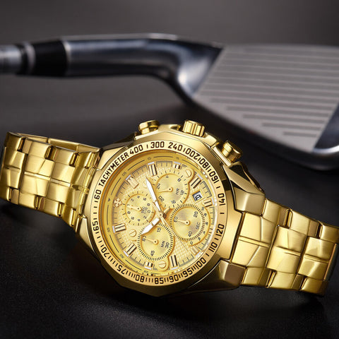 luxury automatic chronograph watch for men