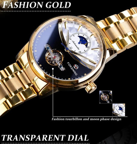 Royal Moonphase Automatic Mechanical Watches For Men detail4