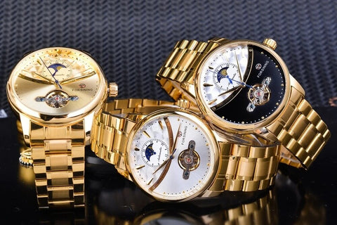 Royal Moonphase Automatic Mechanical Watches For Men detail5