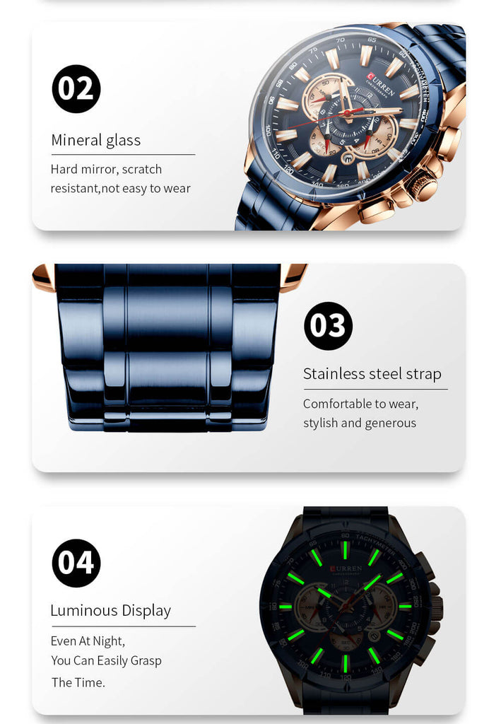 galaxytimepiece Sport Male Big Watch