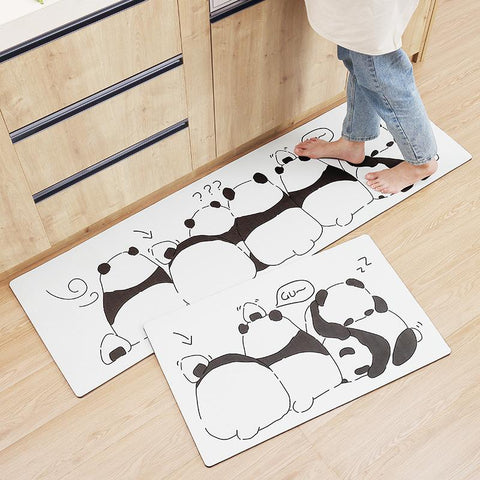Cartoon Oil-proof Home Carpet
