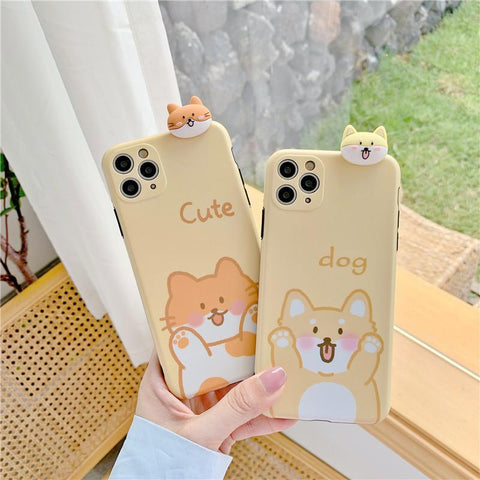 Dog And Cat Phone Case