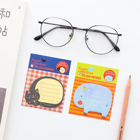 Kawaii Zoo Sticky Notes