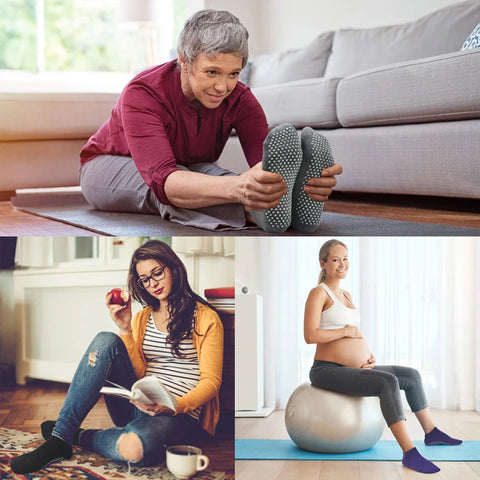 ></p> <ul> <li> <strong>For Home/Hospital Use:</strong> Make you super relax at home. free for all kinds of activities at home.</li> <li> <strong>For Pregnant Women:</strong> The anti-slip socks are very easy to wear for the pregnant. Super comfortable and safe socks make you feel delicate considerateness and care.</li> <li> <strong>For Older People:</strong> Warm/safe/durable socks provide more protection for elders.</li> </ul> <p><span style=