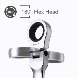 180-degree rotating flexible heads Wrench