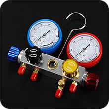 AC Diagnostic Manifold Advanced Gauges