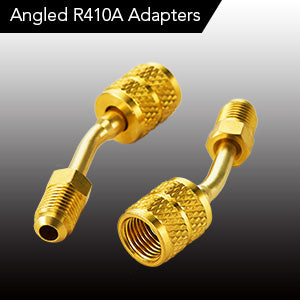 Angled R410A Adapters