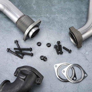 Bellowed Up Pipe Kit Parts