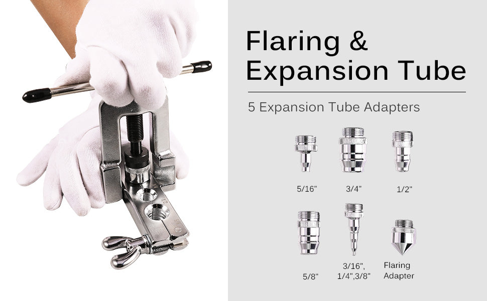 Flaring & Expansion Tube Adapters