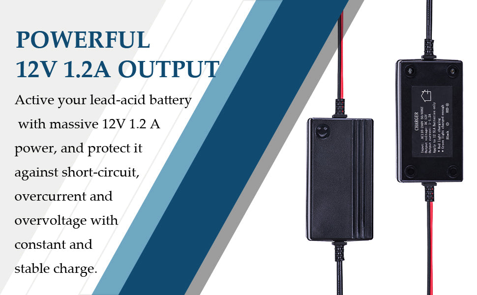 Powerful Portable Multi-Mode Battery Charger