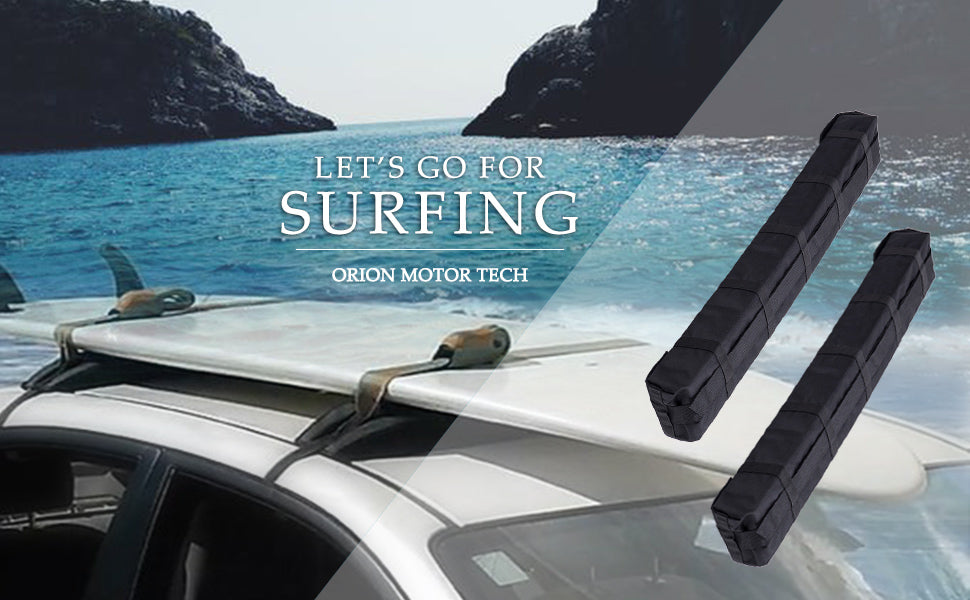 Universal Car Soft Roof Rack Luggage Carrier Surfboard Paddleboard
