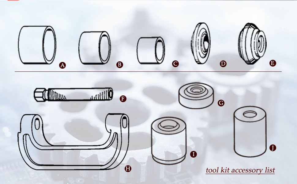 ball joint press removal tool kit