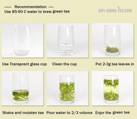 how to brew loose green tea