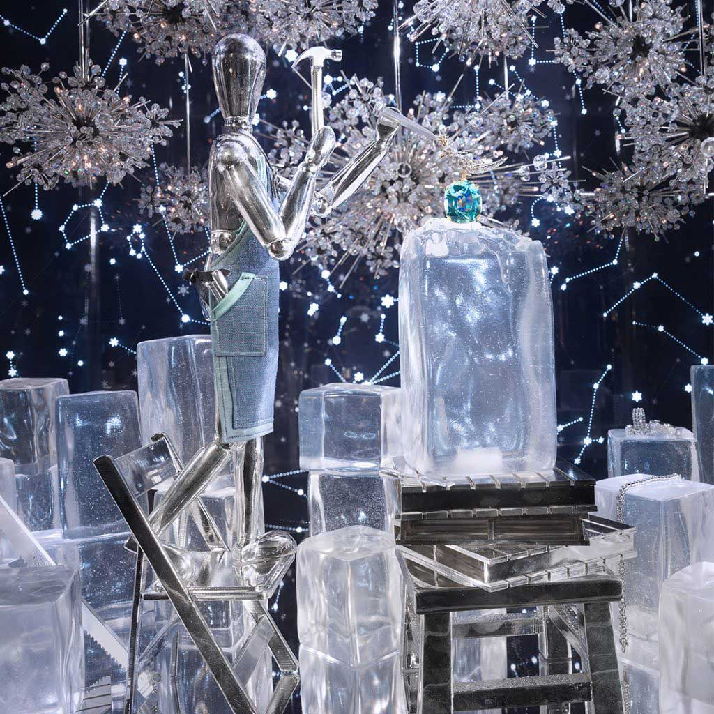 Tiffany and Co. best window displays