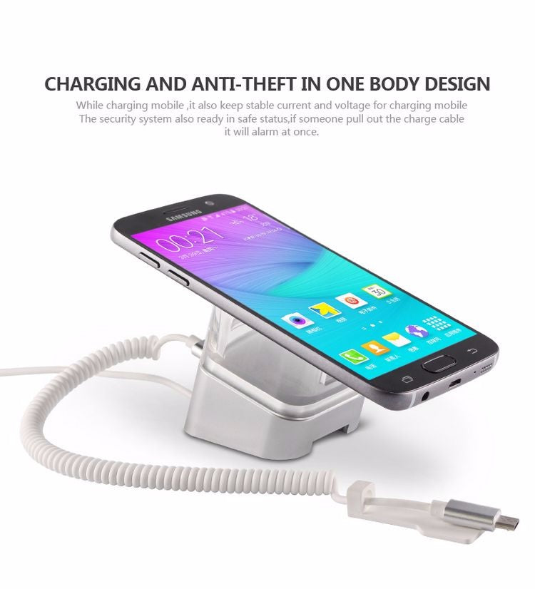 Acrylic Cell Phone Anti-theft Display Stand