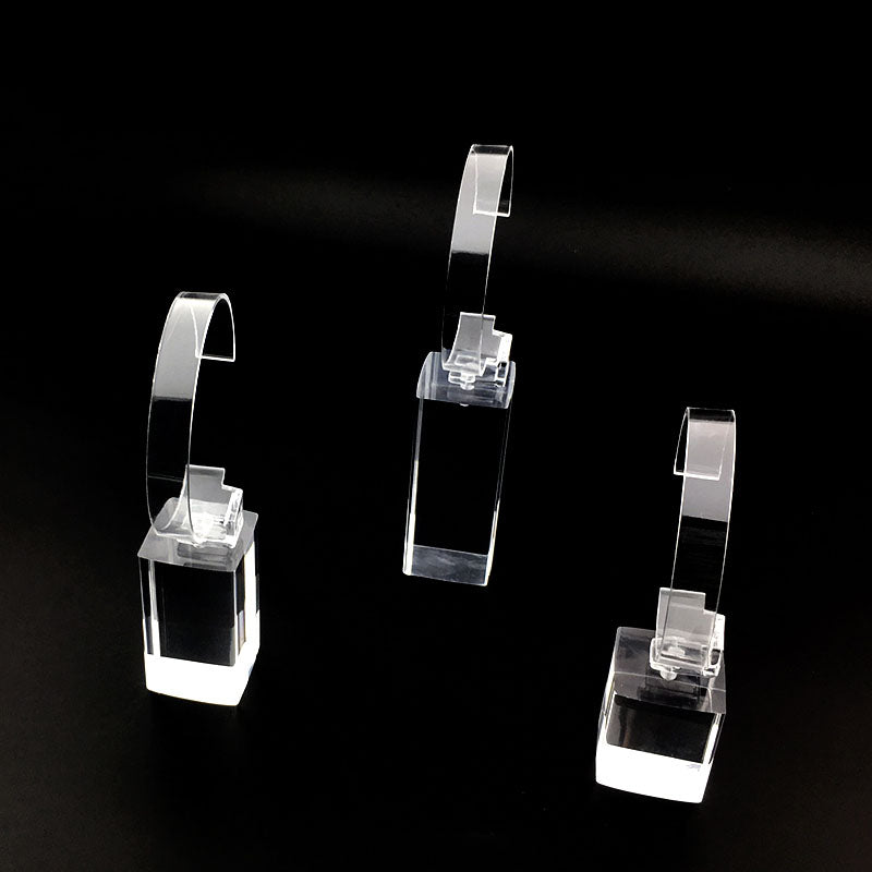 Acrylic transparent watch display stand