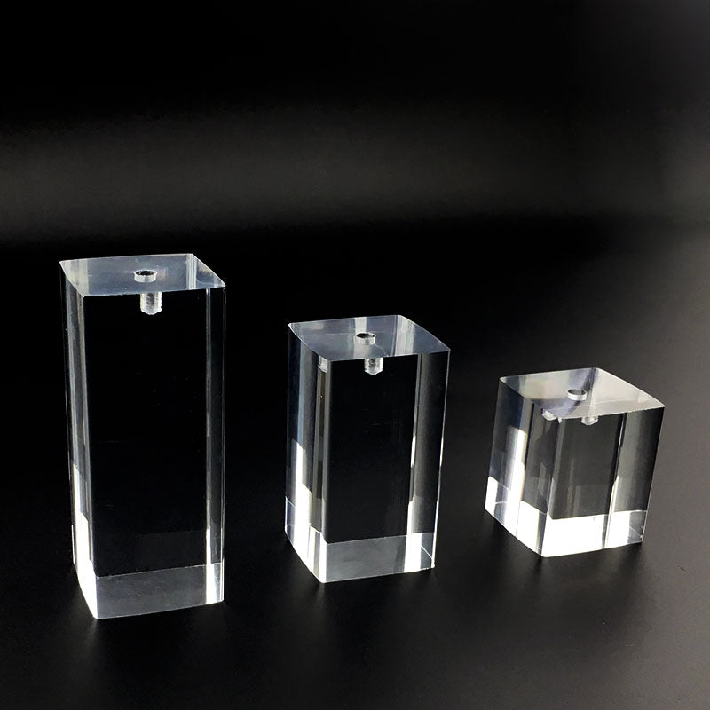 Acrylic transparent watch display stand Base