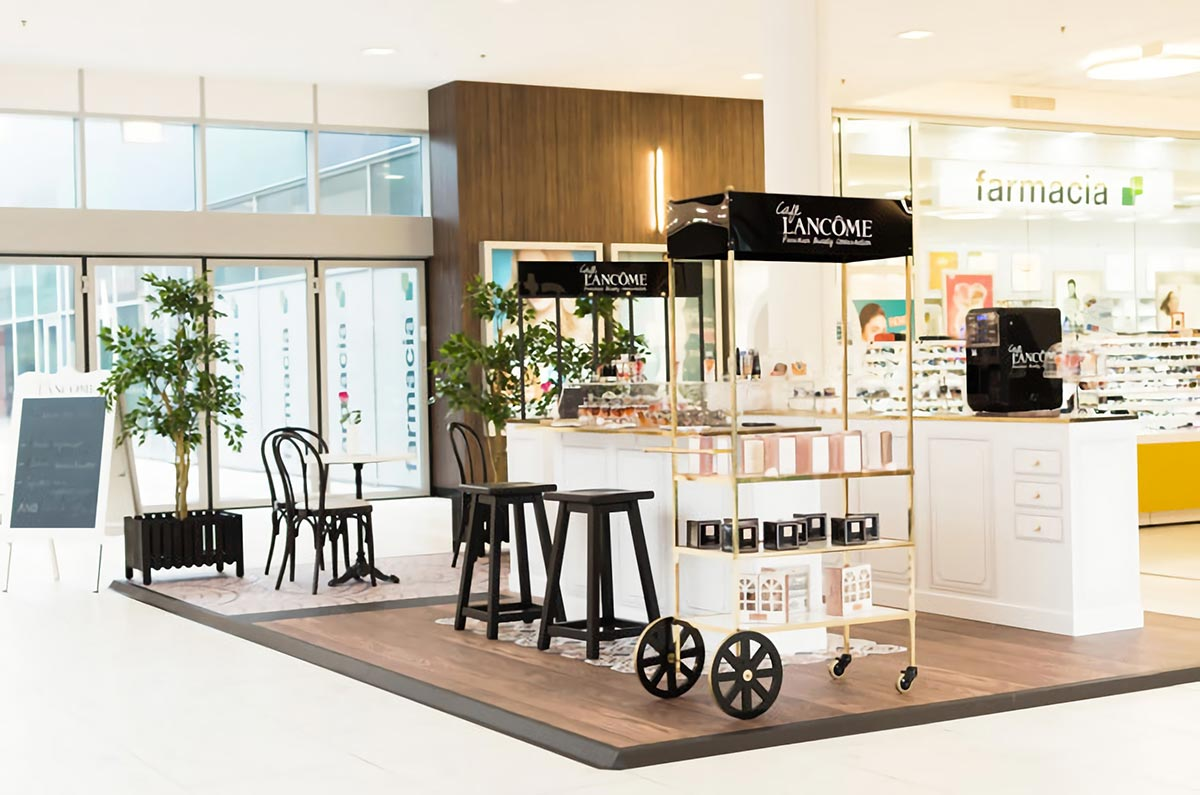 Café Lancôme in Zagreb and Split