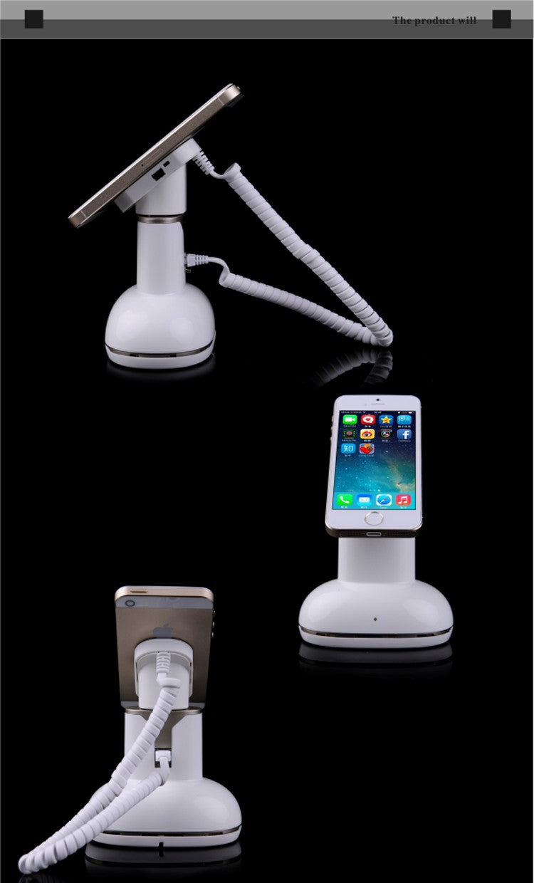 Desktop Standalone ABS material security stand for ipad tablet